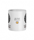 Personalised Ship Commander Ceramic Mug With Battlestar Galactica Ship Logo